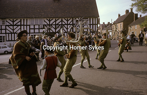 Abbots Bromley Horn Dance. Staffordshire. September.