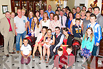 Parent Karen Fitzgerald, Bertie O'Sullivan, Tralee celebrate the Christening of Baby Nathan at St. Johns Church and after with family and friends at the Imperial Hotel on Sunday.