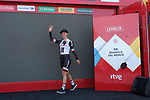 Leah Kirchmann (CAN) leads the general classification after her Team Sunweb win Stage 1 of the Madrid Challenge by La Vuelta, a team time trial running 12.6km from Boadilla del Monte to Boadilla del Monte, Spain. 15th September 2018.                   <br /> Picture: Unipublic/Vicent Bosch | Cyclefile<br /> <br /> <br /> All photos usage must carry mandatory copyright credit (&copy; Cyclefile | Unipublic/Vicent Bosch)