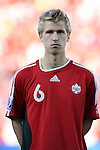 01 July 2007: Canada's Jonathan Beaulieu-Bourgault. At the National Soccer Stadium, also known as BMO Field, in Toronto, Ontario, Canada. Chile's Under-20 Men's National Team defeated Canada's Under-20 Men's National Team 3-0 in a Group A opening round match during the FIFA U-20 World Cup Canada 2007 tournament.