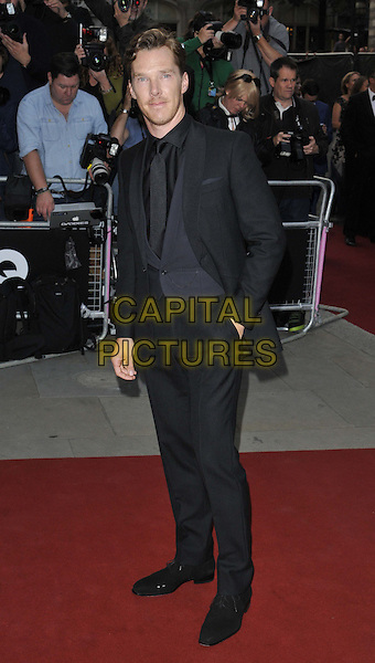 LONDON, ENGLAND - SEPTEMBER 02: Benedict Cumberbatch attends the GQ Men of the Year Awards 2014, Royal Opera House, Covent Garden, on Tuesday September 02, 2014 in London, England, UK. <br /> CAP/CAN<br /> &copy;Can Nguyen/Capital Pictures