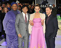 Samuel L Jackson, Manoj Nelliyattu &quot;M. Night&quot; Shyamalan, Sarah Paulson and James McAvoy at the &quot;Glass&quot; UK film premiere, Curzon Mayfair, Curzon Street, London, England, UK, on Wednesday 09 January 2019.<br /> CAP/CAN<br /> &copy;CAN/Capital Pictures