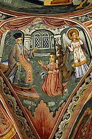 Kloster Trojan, Bulgarien, , Freske