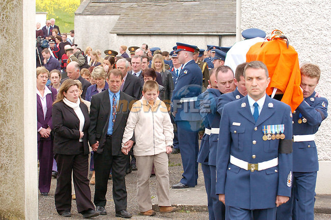 oldcastle county meath ireland funeral raymond heery 2nd lieutenant aircorps wwwnewsfileie