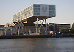 Unilever modern offices built over old existing  factory buildings Rotterdam Netherlands