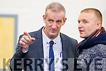 Mike Kennelly at the Local Election recount at John Mitchells GAA hall on Wednesday.