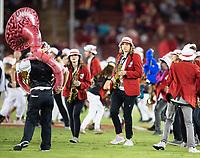Stanford, Ca. - October 6, 2018: The Stanford Cardinal vs the Utah Utes in Stanford Stadium. Final score Stanford Cardinal 21, Utah Utes 40.