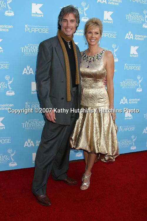 Ronn Moss & Katherine Kelly Lang.Creative Arts Daytime Emmys 2007.Hollywood & Highland Ballroom.Los Angeles, CA.June 14, 2007.©2007 Kathy Hutchins / Hutchins Photo....