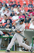 Washington, D.C. - June 16, 2006 -- New York Yankee outfielder Melky Cabrera (28) swings at a pitch in the first inning of the game against the Washington Nationals at RFK STadium in Washington, D.C. on June 16, 2006..Credit: Ron Sachs / CNP