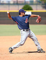 Adam Abraham / Cleveland Indians 2008 Instructional League..Photo by:  Bill Mitchell/Four Seam Images