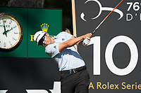 Kurt Kitayama (USA) in action on the 10th hole during the third round of the 76 Open D'Italia, Olgiata Golf Club, Rome, Rome, Italy. 12/10/19.<br /> Picture Stefano Di Maria / Golffile.ie<br /> <br /> All photo usage must carry mandatory copyright credit (© Golffile | Stefano Di Maria)