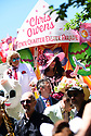 Chris Owens reigns during the 35th Annual Chris Owens French Quarter Easter Parade on Sunday, April 1, 2018