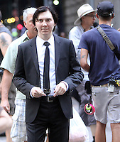 NEW YORK, NY-July 24: Paul Dano  shooting b-roll on location for Netflix & Plan B Enterainment  film Okja in New York. NY July 24, 2016. Credit:RW/MediaPunch