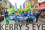 St.Marys GAA Club in the St.Patricks day parade in Caherciveen