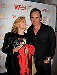 As The World Turns Elizabeth Hubbard and Michael Park - Weight: The Series held its premiere party on October 8, 2014 at Galway Pub, New York City, New York. (Photo by Sue Coflin/Max Photos)