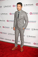 LOS ANGELES, CA - OCTOBER 23: Harry Shum Jr. at the 2016 Outfest Legacy Awards at Vibiana in Los Angeles, California on October 23, 2016. Credit: David Edwards/MediaPunch