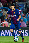 Luis Alberto Suarez Diaz of FC Barcelona in action during the UEFA Champions League 2017-18 match between FC Barcelona and Olympiacos FC at Camp Nou on 18 October 2017 in Barcelona, Spain. Photo by Vicens Gimenez / Power Sport Images
