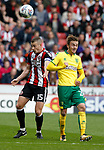 Paul Coutts of Sheffield Utd and \nc2during the Championship match at Bramall Lane Stadium, Sheffield. Picture date 16th September 2017. Picture credit should read: Simon Bellis/Sportimage