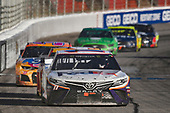 #11: Denny Hamlin, Joe Gibbs Racing, Toyota Camry FedEx Ground, #37: Chris Buescher, JTG Daugherty Racing, Chevrolet Camaro Scott Comfort Plus