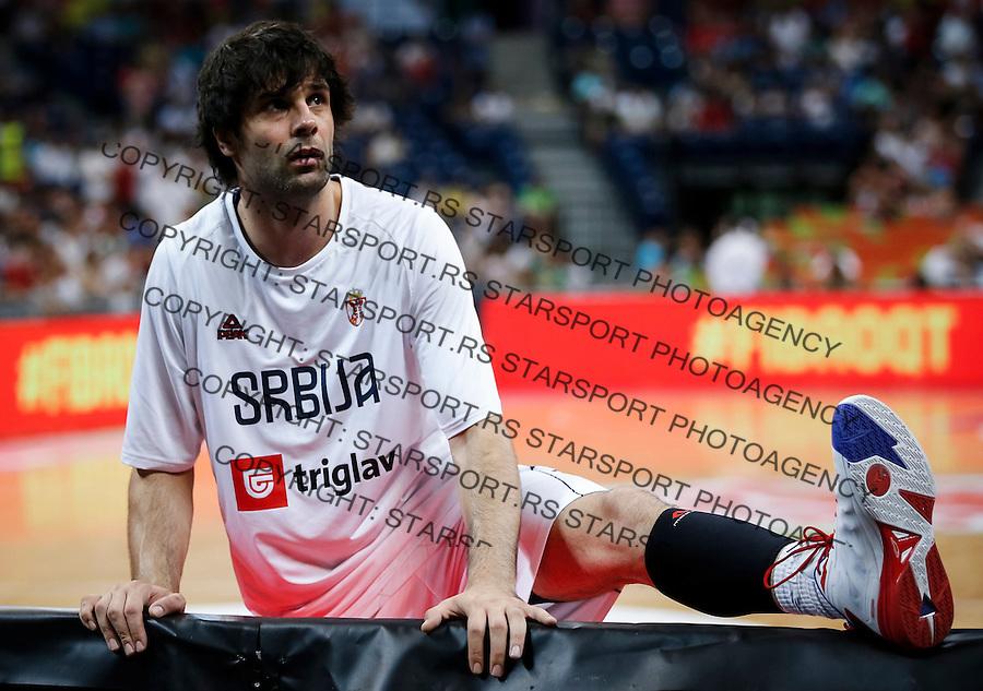 Kosarka FIBA Olympic Basketball Qualifying Tournament-FINAL<br /> Serbia v Puerto Rico<br /> Milos Teodosic<br /> Beograd, 09.07.2016.<br /> foto: Srdjan Stevanovic/Starsportphoto&copy;