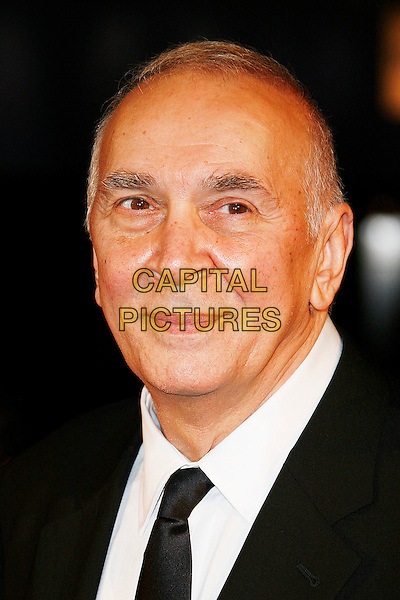 "FRANK LANGELLA .The World Premiere of ""Frost/Nixon"" during The Times BFI 52nd London Film Festival, Odeon Leicester Square, London, England, UK, .October 15th, 2008.lff frost nixon headshot portrait .CAP/DAR.©Darwin/Capital Pictures."