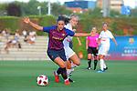 FC Barcelona vs Montpellier HSC: 1-2.<br /> Alexia Putellas vs Sarah Puntigan.