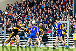 Johnny Buckley Dr Crokes in action against Peter O'Shea Kenmare District in the Senior County Football Championship final at Fitzgerald Stadium on Sunday.