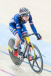 Elise Delzenne of France competes in the Women's Points Race 25 km Final during the 2017 UCI Track Cycling World Championships on 16 April 2017, in Hong Kong Velodrome, Hong Kong, China. Photo by Chris Wong / Power Sport Images