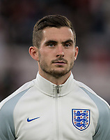 Lewis Cook (Bournemouth) of England U21 ahead of the FIFA World Cup qualifying match between England and Slovakia at Wembley Stadium, London, England on 4 September 2017. Photo by PRiME Media Images.