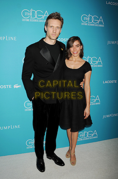 BEVERLY HILLS, CA - FEBRUARY 17: Actor Teddy Sears and wife/actress Milissa Sears attend the 17th Costume Designers Guild Awards at The Beverly Hilton Hotel on February 17, 2015 in Beverly Hills, California.<br /> CAP/ROT/TM<br /> &copy;TM/ROT/Capital Pictures