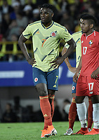 BOGOTA - COLOMBIA, 03-06-2019: Duvan Zapata jugador de Colombia en acción durante partido amistoso entre Colombia y Panamá jugado en el estadio El Campín en Bogotá, Colombia. / Duvan Zapataplayer of Colombia in action during a friendly match between Colombia and Panama played at Estadio El Campin in Bogota, Colombia. Photo: VizzorImage/ Gabriel Aponte / Staff