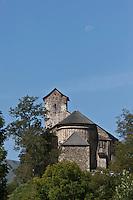 Europe/France/Aquitaine/64/Pyrénées-Atlantiques/Pays-Basque/Sainte-Engrâce: L'église romane du XIe siècle
