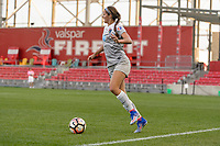Bridgeview, IL - Sunday September 03, 2017: Ashley Hatch during a regular season National Women's Soccer League (NWSL) match between the Chicago Red Stars and the North Carolina Courage at Toyota Park. The Red Stars won 2-1.