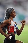 Naser Salwa (BRN), <br /> AUGUST 25, 2018 - Athletics : Women's 400m Qualification at Gelora Bung Karno Main Stadium during the 2018 Jakarta Palembang Asian Games in Jakarta, Indonesia. <br /> (Photo by MATSUO.K/AFLO SPORT)