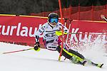 10.03.2018, Ofterschwanger Horn, Ofterschwang, GER, Slalom Weltcup in Ofterschwang, im Bild Martina Dubovska (CZE, #35)<br /> <br /> Foto &copy; nordphoto / Hafner
