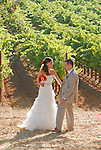 Ashley and Mike Stevens' Sonoma Wine Country wedding at the BR Cohn winery.