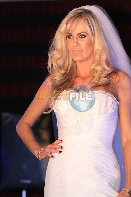(Shane Personal Event) Lisa Murphy on the catwalk at the Drumcar Fashion Show..Picture: Shane Maguire / www.newsfile.ie.