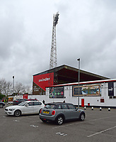 A general view of County Ground, home of Swindon Town FC<br /> <br /> Photographer Andrew Vaughan/CameraSport<br /> <br /> The EFL Sky Bet League Two - Swindon Town v Lincoln City - Saturday 12th January 2019 - County Ground - Swindon<br /> <br /> World Copyright © 2019 CameraSport. All rights reserved. 43 Linden Ave. Countesthorpe. Leicester. England. LE8 5PG - Tel: +44 (0) 116 277 4147 - admin@camerasport.com - www.camerasport.com