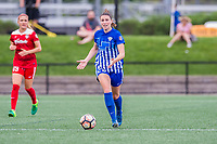 Boston, MA - Saturday July 01, 2017: Morgan Andrews during a regular season National Women's Soccer League (NWSL) match between the Boston Breakers and the Washington Spirit at Jordan Field.
