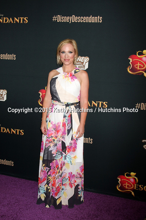 "LOS ANGELES - JUL 24:  Leigh-Allyn Baker at the ""Descendants"" Premiere Screening at the Walt Disney Studios on July 24, 2015 in Burbank, CA"