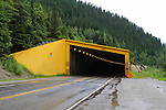 SNOW SHEDS FOR HIGHWAY ON THE TRANS-CANADA HIGHWAY