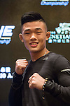 Christian lee, fighter of One Championship - Heroes of the World poses for photos during the press conference on 04 August 2016 held at Conrad Hotel, Hong Kong, China. Photo by Marcio Machado / Power Sport Images