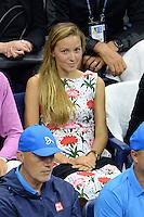 FLUSHING NY- SEPTEMBER 06: Jelena Djokovic is seen watching Novak Djokovic Vs Jo Wilfred Tsonga on Arthur Ashe Stadium at the USTA Billie Jean King National Tennis Center on September 6, 2016 in Flushing Queens. Credit: mpi04/MediaPunch