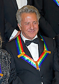 Dustin Hoffman ,one of the seven recipients of the 2012 Kennedy Center Honors pose for a photo following a dinner hosted by United States Secretary of State Hillary Rodham Clinton at the U.S. Department of State in Washington, D.C. on Saturday, December 1, 2012.  The 2012 honorees are Buddy Guy, actor Dustin Hoffman, late-night host David Letterman, dancer Natalia Makarova, and the British rock band Led Zeppelin (Robert Plant, Jimmy Page, and John Paul Jones)..Credit: Ron Sachs / CNP