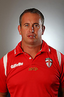 PICTURE BY VAUGHN RIDLEY/SWPIX.COM - Rugby League - England Rugby League Headshots - UCLan Sports Arena, Preston, England - 23/10/12 - England's Steve McNamara.