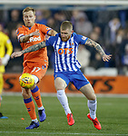 09.02.2019: Kilmarnock v Rangers : Scott Arfield and Alan Power