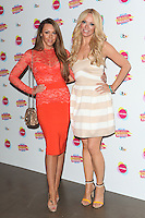 Michelle Heaton and Liz McClarnon arriving at for Lorraine's High Street Fashion Awards 2014, at Vinopolis, London. 21/05/2014 Picture by: Alexandra Glen / Featureflash