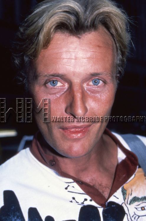 Rutger Hauer on June 27, 1982 in New York City.