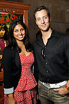 Farida Vohra and Haavard Oestensen at a VIP preview of Real Pirates: The Untold Story of the Whydah from Slave Ship to Pirate Ship at the Houston Museum of Natural Science Wednesday Oct. 06, 2010. (Dave Rossman/For the Chronicle)