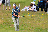 Cormac Sharvin (NIR) on the 18th during Round 4 of the Irish Open at LaHinch Golf Club, LaHinch, Co. Clare on Sunday 7th July 2019.<br /> Picture:  Thos Caffrey / Golffile<br /> <br /> All photos usage must carry mandatory copyright credit (© Golffile | Thos Caffrey)